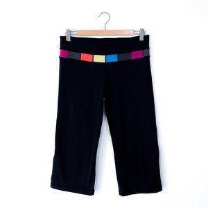 Lululemon Colorful Band Reversible Crop Leggings